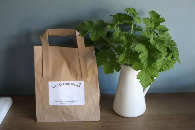 Sue's Cornish Kitchen Recyclable Packaging
